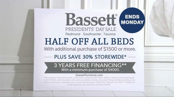 Bassett Presidents' Day Sale TV Spot, 'Customized Style' - Thumbnail 5