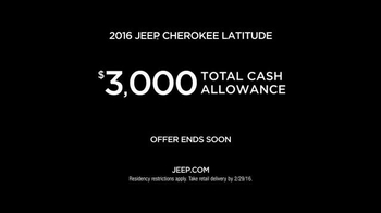 Jeep Presidents' Day Event TV Spot, 'Celebrating the Jeep Lineup' - Thumbnail 6
