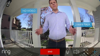 Ring Video Doorbell TV Spot, 'Top Gadget' - Thumbnail 4
