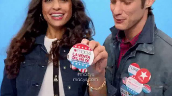 Macy's La Venta del Día de Presidentes TV Spot, 'Ahorros' [Spanish] - Thumbnail 9