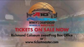 Atlantic 10 TV Spot, 'Women's Basketball Championship: Richmond Coliseum' - Thumbnail 8