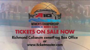 Atlantic 10 TV Spot, 'Women's Basketball Championship: Richmond Coliseum' - Thumbnail 7