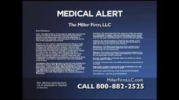 Miller Firm TV Spot, 'Talcum Powder Alert' - Thumbnail 4
