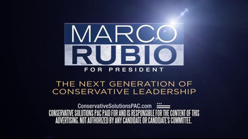 Conservative Solutions PAC TV Spot, 'Marco Rubio: Different' - Thumbnail 8