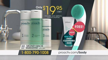 Proactiv Deep Cleansing Duo TV Spot, 'Bacne' - Thumbnail 6