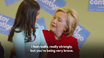 Hillary for America TV Spot, 'Brave' - 1 commercial airings