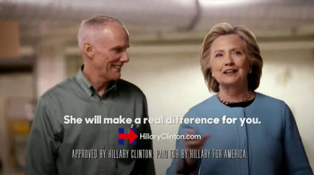 Hillary for America TV Spot, 'That's the Job' - Thumbnail 8
