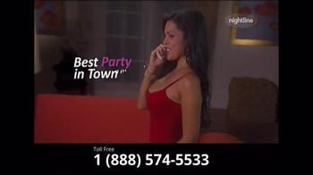 Nightline Chat TV Spot, 'Wild Night' - Thumbnail 2