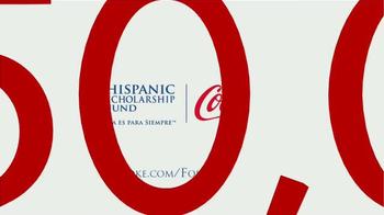 Coca-Cola TV Spot, 'Hispanic Scholarship Fund' [Spanish] - Thumbnail 4