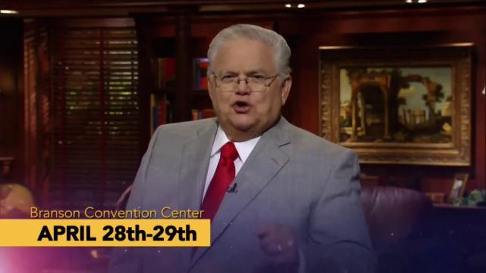 John Hagee Ministries TV Commercial, 'Gospel Rally: Branson Convention Center'