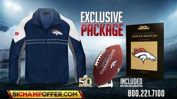 Sports Illustrated Championship Package TV Spot, 'Super Bowl 50 Broncos' - Thumbnail 2