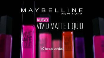 Maybelline New York Vivid Matte Liquid TV Spot, 'Matte vivido' [Spanish] - Thumbnail 9