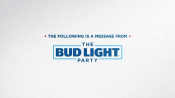 Bud Light TV Spot, 'Party Security' Featuring Seth Rogen, Ronda Rousey - Thumbnail 1