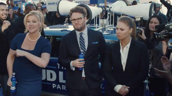 Bud Light TV Spot, 'Party Security' Featuring Seth Rogen, Ronda Rousey - 620 commercial airings