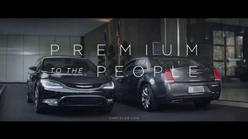 2016 Chrysler 200 and 300 TV Spot, 'Swerve' Ft. Martin Sheen, Bill Pullman - 2 commercial airings