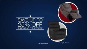 La-Z-Boy Presidents Day Sale TV Spot, 'Comfort and Quality' - Thumbnail 3