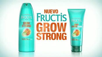 Garnier Fructis Grow Strong TV Spot, 'Cabello más largo' [Spanish] - Thumbnail 3