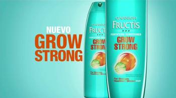 Garnier Fructis Grow Strong TV Spot, 'Cabello más largo' [Spanish] - Thumbnail 5