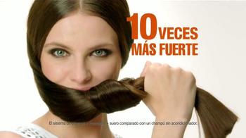 Garnier Fructis Grow Strong TV Spot, 'Cabello más largo' [Spanish] - Thumbnail 8