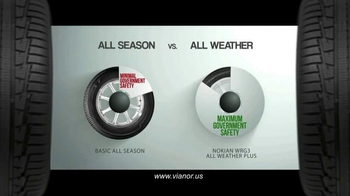 Vianor Nokian WRG3 Tire TV Spot, 'All Weather' - Thumbnail 4