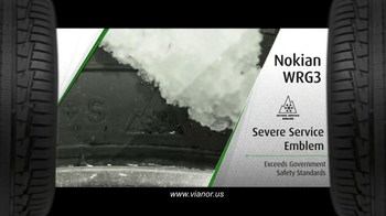 Vianor Nokian WRG3 Tire TV Spot, 'All Weather' - Thumbnail 6