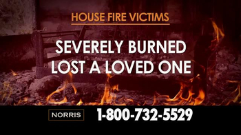 Norris Injury Lawyers TV Spot, 'House Fire Victims' - Thumbnail 3