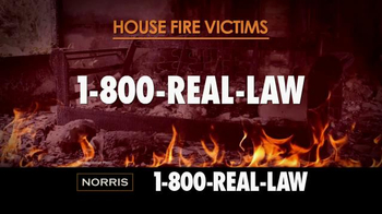 Norris Injury Lawyers TV Spot, 'House Fire Victims' - Thumbnail 4