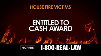 Norris Injury Lawyers TV Spot, 'House Fire Victims' - Thumbnail 5