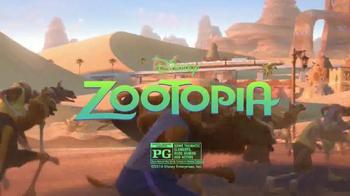 Subway Fresh Fit for Kids TV Spot, 'Disney Channel: Zootopia' - Thumbnail 7