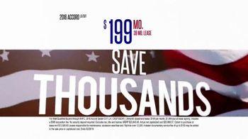 Honda Presidents' Day Sales Event TV Spot, 'Hundreds of Hondas'
