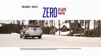 Honda Presidents' Day Sales Event TV Spot, 'Hundreds of Hondas' - Thumbnail 9