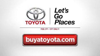 Toyota Presidents' Day Event TV Spot, 'Bonus Cash' [T2] - Thumbnail 3