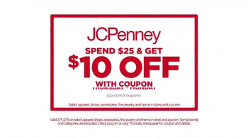 JCPenney Presidents' Day Sale TV Spot, 'New Markdowns' - Thumbnail 3