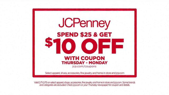 JCPenney Presidents' Day Sale TV Spot, 'New Markdowns' - Thumbnail 4