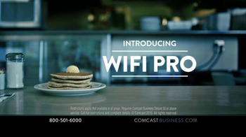 Comcast Business WiFi Pro TV Spot, 'Hotcakes' - Thumbnail 7