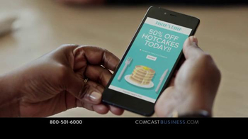 Comcast Business WiFi Pro TV Spot, 'Hotcakes' - Thumbnail 5