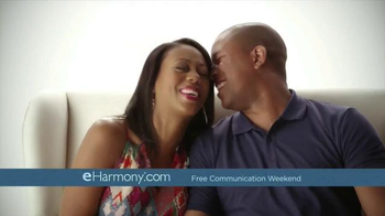 eHarmony Free Communication Weekend TV Spot, 'Valentine's Day' - Thumbnail 2