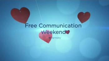 eHarmony Free Communication Weekend TV Spot, 'Valentine's Day' - Thumbnail 3