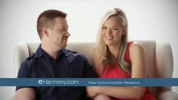 eHarmony Free Communication Weekend TV Spot, 'Valentine's Day' - Thumbnail 6