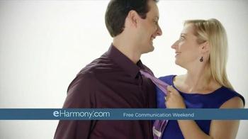 eHarmony Free Communication Weekend TV Spot, 'Valentine's Day' - Thumbnail 7
