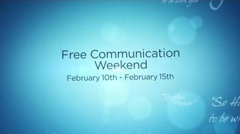eHarmony Free Communication Weekend TV Spot, 'Valentine's Day' - Thumbnail 8