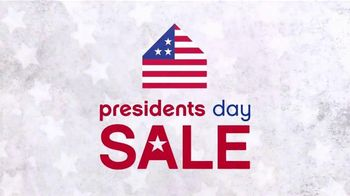 Ashley Furniture Homestore Presidents' Day Sale TV Spot, 'Save Storewide' - 16 commercial airings