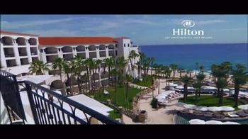 Hilton Los Cabos Beach & Golf Resort TV Spot, 'Luxury' - Thumbnail 1
