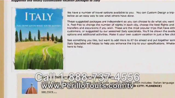 Perillo Tours TV Spot, 'The Choice is Yours' - Thumbnail 4