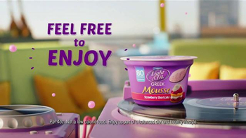 Dannon Light & Fit Greek Mousse TV Spot, 'Jane Mixes Things Up' - Thumbnail 10