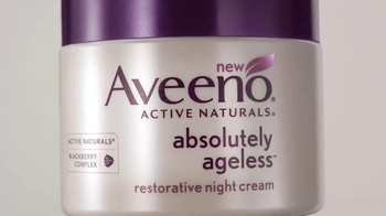 Aveeno Absolutely Ageless TV Spot, 'Blackberry Complex' - Thumbnail 1