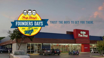 PepBoys Founders Days TV Spot, 'Brakes and Tires' - Thumbnail 10