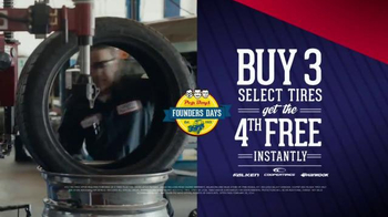 PepBoys Founders Days TV Spot, 'Brakes and Tires' - Thumbnail 8