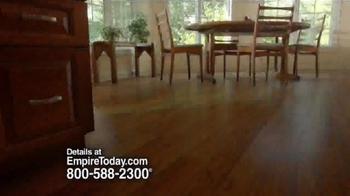 Empire Today Half Price Sale TV Spot, 'Beautiful Floors' - Thumbnail 1