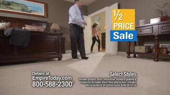 Empire Today Half Price Sale TV Spot, 'Beautiful Floors' - Thumbnail 3
